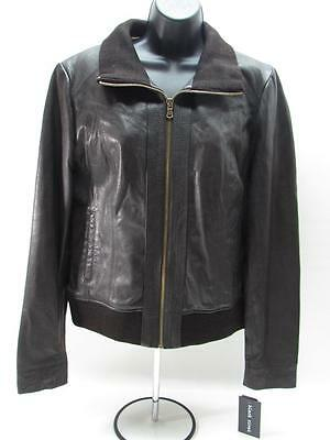 45f0f5ff3472a NWT BLACK RIVET WILSON LEATHER Women s Jacket Brown Genuine Leather X-Large