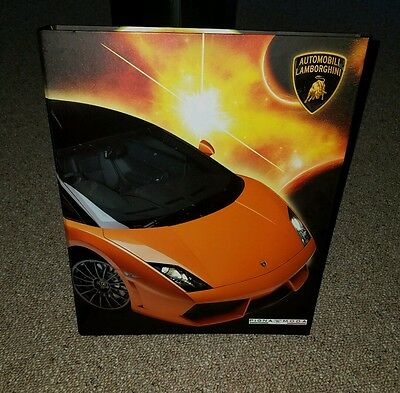 Licensed Automobili Lamborghini - Notebook - 3 Ring Binder - Pigna Moda