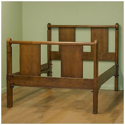 Ernest Gimson Arts Crafts Walnut Double Bed C. 1910