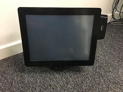 "5 x CIELO 15"" MULTI-TOUCH EPOS SLIM TOUCHSCREEN LCD DISPLAY MONITOR BLACK"