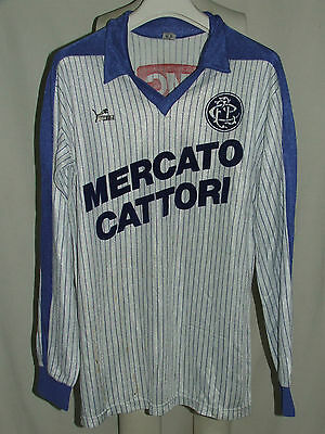 SOCCER JERSEY TRIKOT CAMISETA MAILLOT MATCH WORN LOCARNO n ° 20 80'S