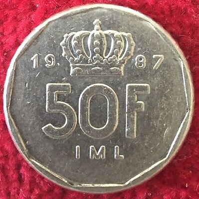 Luxemburg Luxembourg 50 Francs 1987