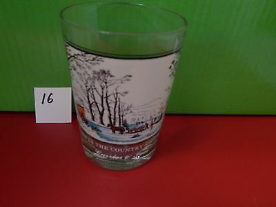 arbys collector glass currier and ives