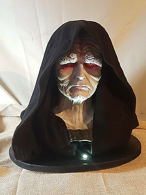 Star Wars Life size The Emporer  scale 1:1 Bust prop .Return of the Jedi