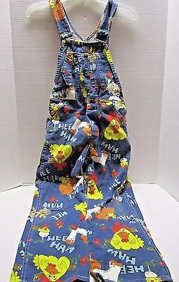 Vintage Liberty Hee Haw Unisex Denim Bib Carpenter Overalls Youth Sz 10 Regular
