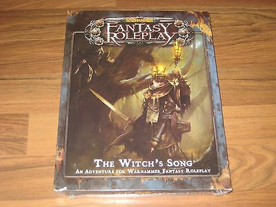 Warhammer Fantasy Roleplay 3rd Ed. The Witch's Song Adventure FFG 2011 New SW