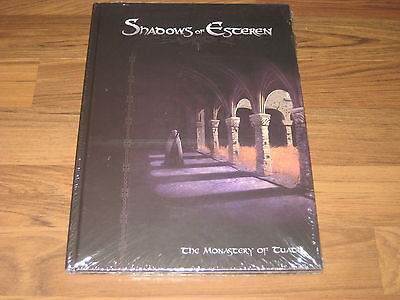 Shadows of Esteren Book 4 The Monastery of Tuath HC 2014 AGATE RPG New Sealed