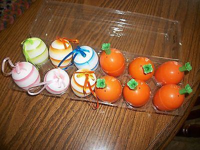 easter eggs to hang/ carrots to fill with candy. exc., used cond.