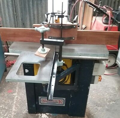 sedgwick SM3 3 phase spindle moulder