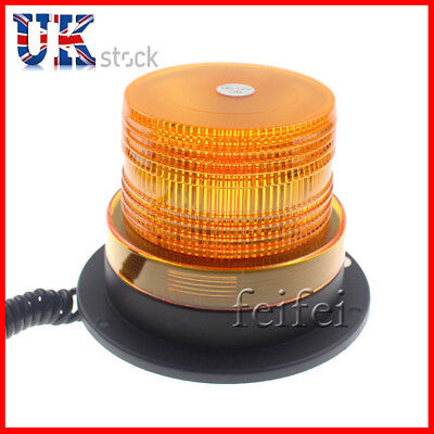 12V Magnetic Strobe Beacon Light Lamp Emergency Hazard Flash Bar Car Van UK