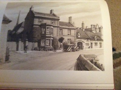 E2-1 Ephemera 1948 Picture 8x6 Inch Approx burford houses by the bridge
