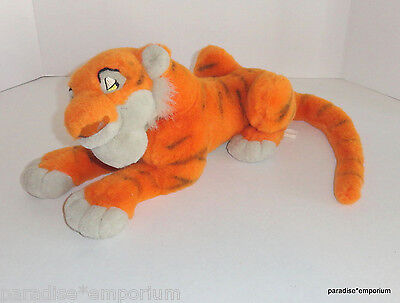 "Disney Store Jungle Book Movie SHERE KHAN Plush Tiger Villain 14"" P38"