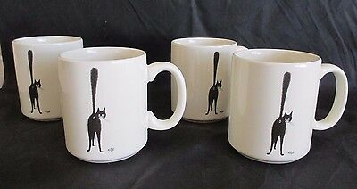 4 CAT The Third Eye DUBOUT Edition Clouet MUGS 2003 France TAIL UP New in Box