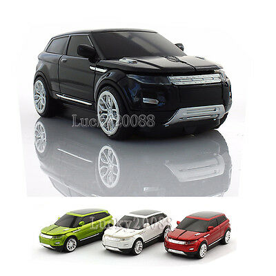 1600DPI Rover Range Car USB 2.4Ghz Wireless Mouse PC Laptop Computer mice Gift