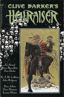 Clive Barker's Hellraiser Book 3 (Graphic Novel, Epic, 1990)