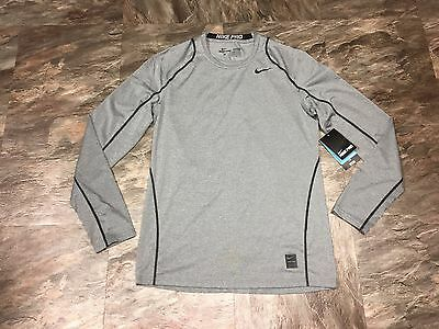 NWT Nike Pro Dri-Fit Fitted Long Sleeve Training Shirt Men's MEDIUM