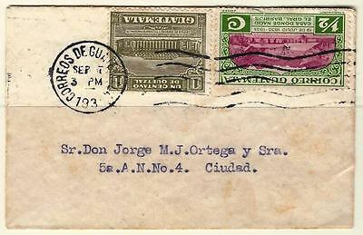 Guatemala 1935  Small Cover 2 Scans