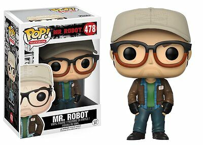 Mr. Robot Pop Television Vinyl Figure Funko New Vaulted