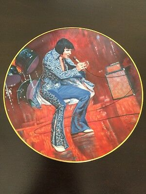 Elvis Presley Collector's Plate Las Vegas No.1386 Limited Edition 1984 Graceland