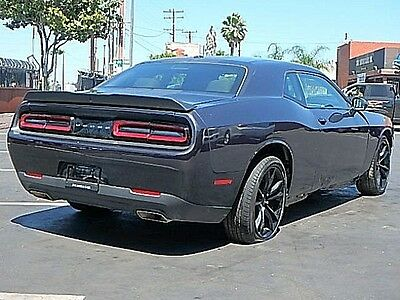 2016 Dodge Challenger R/T 2016 Dodge Challenger R/T Coupe Wrecked Perfect Project Very Sporty Wont Last!
