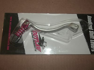 Outlaw Racing Red Aluminum Shifter Shift Lever Honda CR125 CR 125 1983-2007