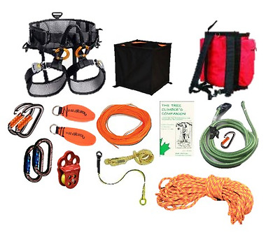 Professional Arborist Tree Climbing Petzl Sequoia Saddle Kit (Small / Medium)