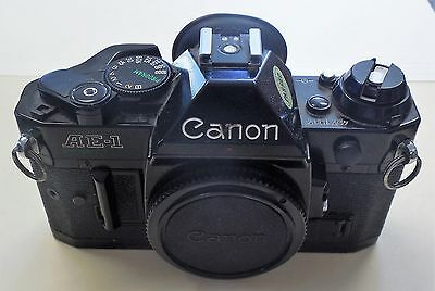 Canon AE-1 Program 35mm SLR Film Camera As Is