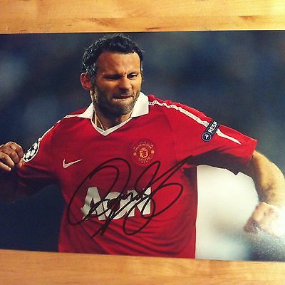 RYAN GIGGS ( MAN UTD ) signed autographed 12x8 photo SIGNED ,
