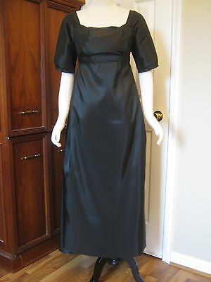 Black Regency Dress