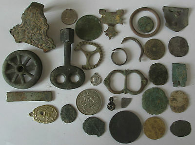 Lot of old detecting finds