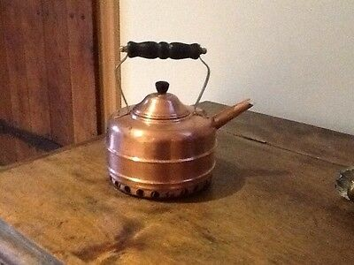 Old Vintage Simplex Solid Copper Kettle