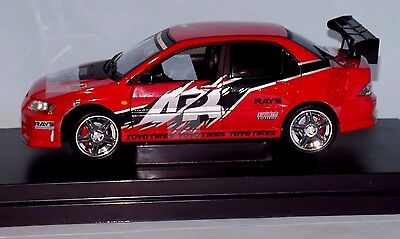 Mitsubishi Lancer Evolution Vii 2002 The Fast And The Furious Ertl 53607A 1:18