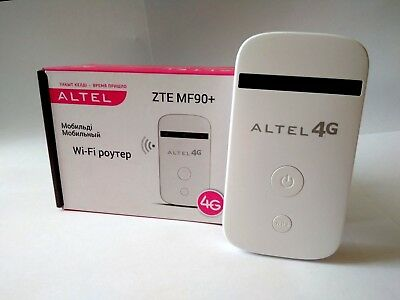 NEU ZTE MF90+ Plus WiFi LTE WLAN 4G 3G Hotspot Wireless Mobile Router UNLOCKED