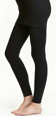 H&M Mama Maternity Full Support Tights 1 Pack 100 Den, Shiny Size L