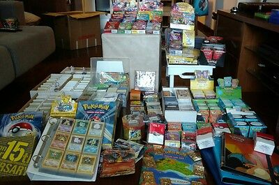 Huge Pokemon Card Collection!!! Over 4.000 Cards!!!