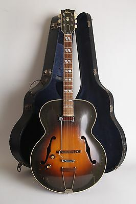 1949 Gibson L-7! Beautiful Archtop That Plays Like A Dream! Original Case!