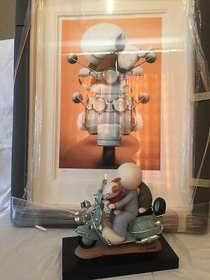 """Doug Hyde """"The Modfather"""" Limited Edition Sculpture & Signed Print"""