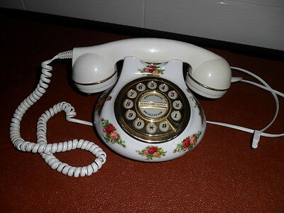 Royal Albert Old Country Roses Push Button Telephone Handset