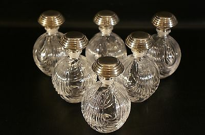 Italian Perfume Bottles With Sterling Silver Shoppers