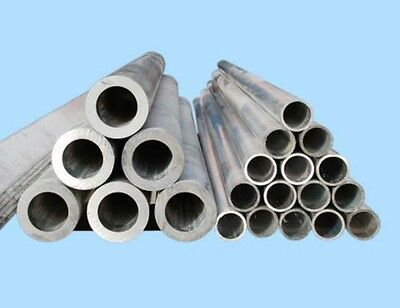 Aluminium Round Tube 8mm OD x 250mm to 500mm Long Various Wall Thick x1