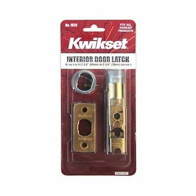 "Kwikset 81826-001 Interior Door Latch, 2-3/8"" & 2-3/4"""