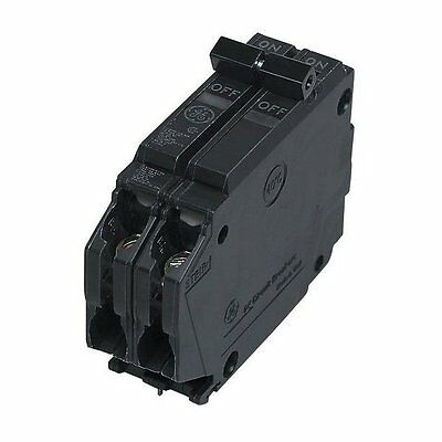 GE THQP240 Double Pole Circuit Breaker, 40 Amp