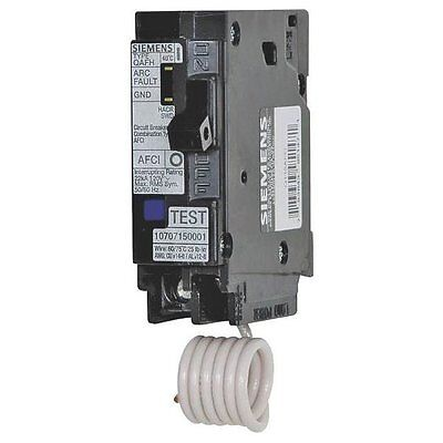 Siemens QA120AFC Combination ARC Fault Breaker, 20 AMP