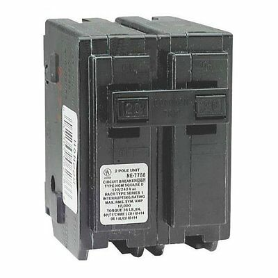 Square D HOM230CP Double Pole Circuit Breaker, 30 Amp, 2""