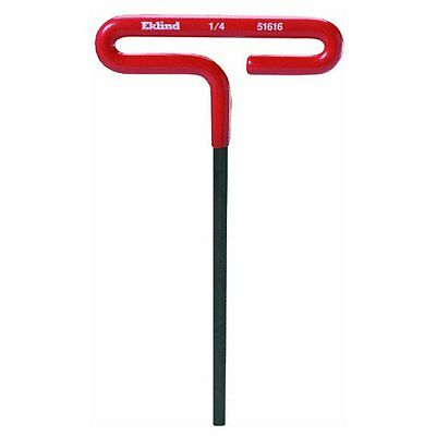 "Eklind Tool Eklind 51610 Cushion Grip T-handle Hex Key, 5/32"" x 6"""
