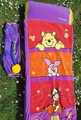 Winnie the pooh piglet tigger ready bed air bed, pump and carry bag