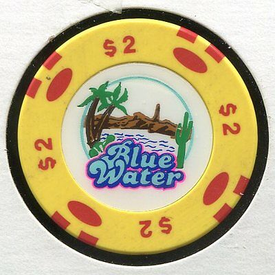 Blue Water $2 Parker AZ  CG478  Additional Chips Ship for 25c !