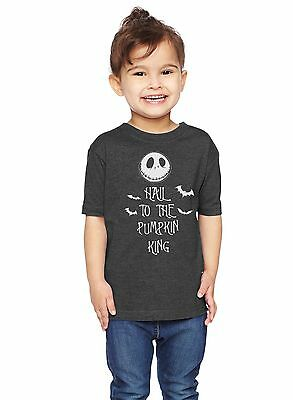 Hail To The Pumpkin King The Nightmare Before Christmas Unisex Toddler T-Shirt