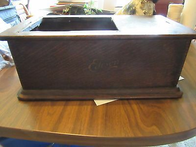 Original Edison Model B Phonograph Tall Case Bottom  BED Latch Complete