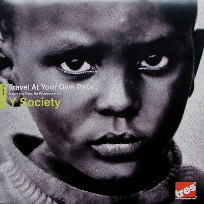 Y Society - Travel At Your Own Pace 2xLP Hip Hop Damu The Fudgemunk Redefinition